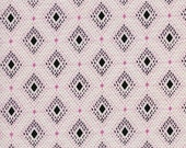 Cotton + Steel Lucky Strikes - nine pin lawn pink - 50cm