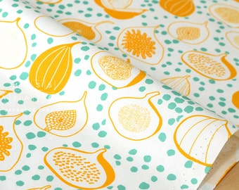 Japanese Fabric Happy Figs - A - 50cm