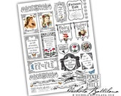 Fairy Tales and Gypsy Proverbs PDF Collage Sheet PDF Download