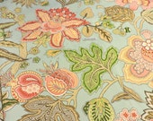 Braemore Jacobean Fabric - Braemore Pillow Fabric - DIY Jacobean Textiles - Yardage - 7 Yards Available - Curtain Fabric - BizzieLizzie Bags