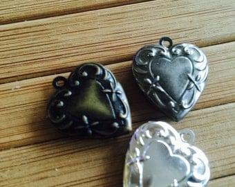 Heart LOCKET 19x19mm   - Code 124.965