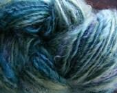 NAUTILUS Handspun Wool Yarn Fleecespun Coopworth 158yds 5.25oz 8wpi aspenmoonarts knitting art yarn