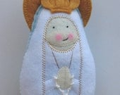 Our Lady of Fatima Felt Saint Softie