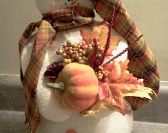 Pattern Hester the Harvest Snowman