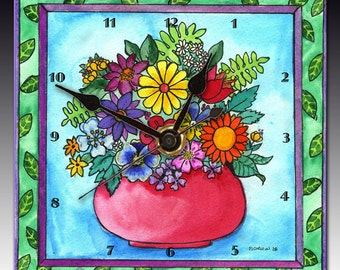 Bouquet Clock