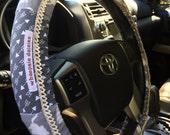 Cats & Arrows Hippie Chic Non-Slip Steering Wheel Cover