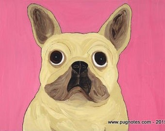 French Bulldog Note Cards by Melissa Langer