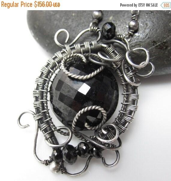 SALE Little Black Dress....Erm, Necklace