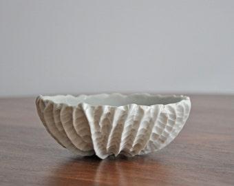 Medium Ceramic Bowl - Choice of Color - Porcelain Bowl White Ceramic Bowl