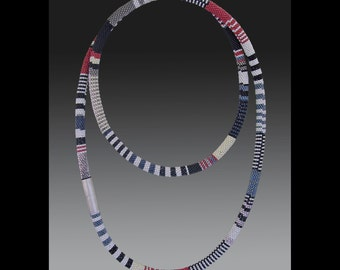 Bead Crochet, seed bead necklace, Tubular crochet, seed bead crochet, african style necklace, african, bead crochet