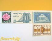 Custom for Tonya - 30 sets vintage postage NYC-Columbia U 68c