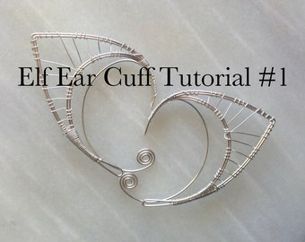 Elf Ear Cuff Tutorial #1 - Downloadable PDF ONLY