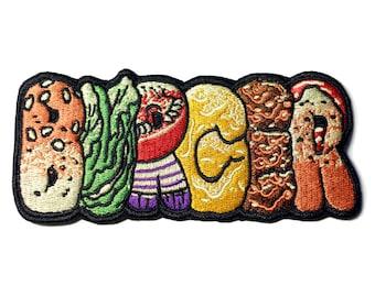 Burger Logo Patch