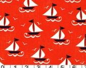 CLEARANCE 1 Yard Michael Miller Ship Shape fabric