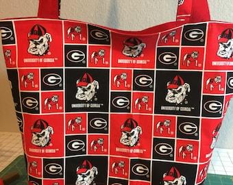 Georgia Bulldog Diaper Bag