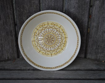 Vintage MS Kilns Sierra Ironstone Serving Bowl