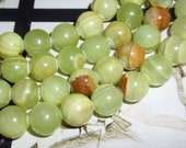 Green Apple Jade 10mm Round Gemstone Beads