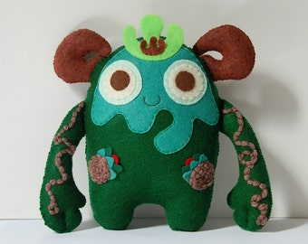 Birch The Spirit Of The Forest / Plush Monster Stuffed Toy