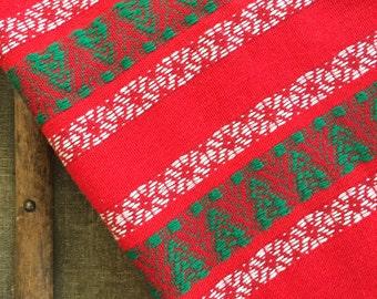 Scandinavian Tablecloth - Christmas - Woven Wool