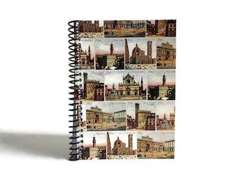 Florence, Travel Journal, Blank Notebook, Sketchbook, Writing Journal, Diary Journal, A6, Notebook, Spiral Notebook, Spiral Bound