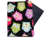 Passport Cover - Snoozing Owl