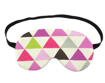 Purple Tone Triangle Sleep Eye Mask, Sleeping Mask, Travel Mask