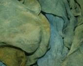 Hopper's World in  Hand Dyed Silk Gauze  for Nuno Felting