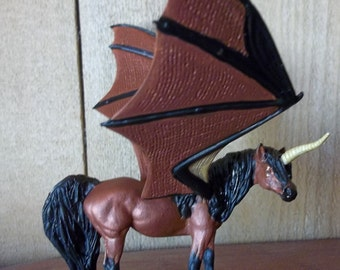 Stablemate Scale OOAK Pegasus or Winged Unicorn