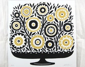 Tree of Life (Black/Gold) - Limited Edition Print