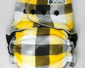 Custom Cloth Diaper or Cover -  Lumberjack - You Pick Size & Style - Made to Order AI2, Fitted, Cover, or Hybrid