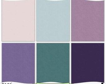 Pink Teal Purple Digital Kraft Background Prints Instant Download Set of 6 - 8.5 x 11 inch Printable Papers JPEG & PDF Commercial Use 2106
