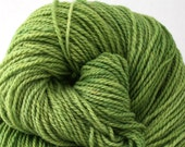 Mohonk Hand Dyed sport weight NYS Wool 370 yds 4oz Spring Green
