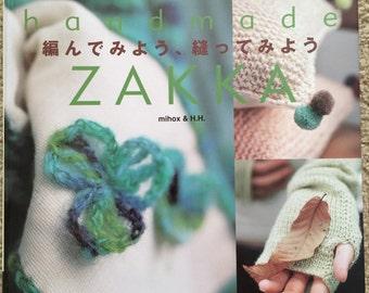 Japanese craft book Handmade Zakka mihox & H.H. NEW PRICE