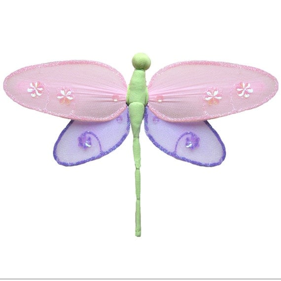Dragonfly Wall Decorations Home Decor Ceiling Nylon