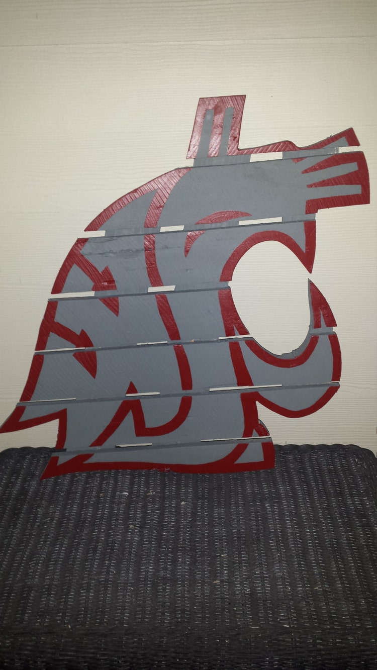 Wsu Cougar Sign Washington State University By
