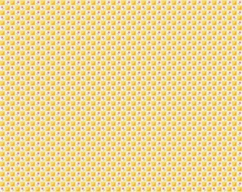 Bloom And Bliss - Fabric From Riley Blake - Yellow - (C4583) - 1 Yard - 7.95 Dollars