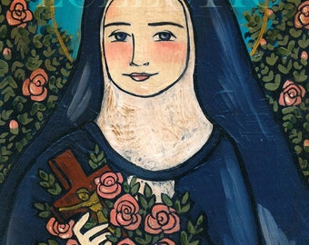 PRINT Saint Therese of Lisieux