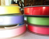 SALE full ribbon reel 25m choose your colour