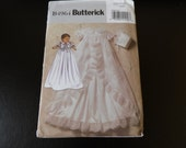 Infant Blessing/Christening Gown Butterick B4964 uncut pattern