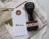 Vintage Apple Orchard Rubber Stamp Rome Beatuy