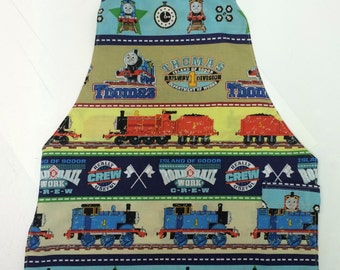Thomas the Tank Engine Child's Apron Size 3-5 Ready to Ship