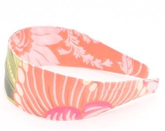REVERSIBLE Charm Green Comfort Fit Fabric Headband