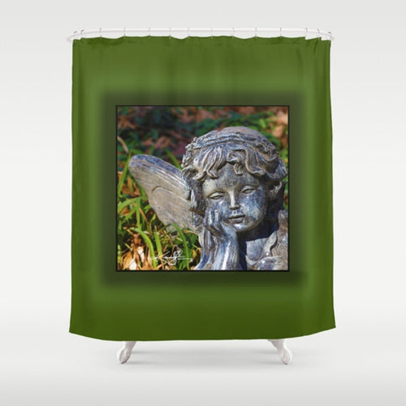 Little Angel Shower Curtain From Original Abstract