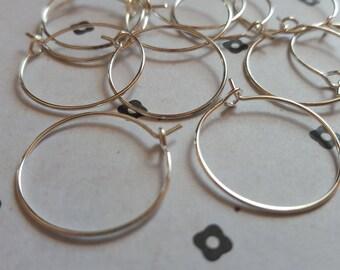 25mm Earring Hoops (6 pairs)