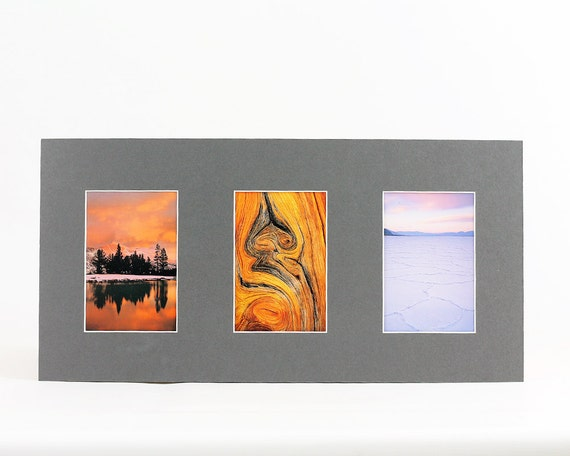 4x6 Multiple Photo Mat Fits 10x20 Frame Multi Opening