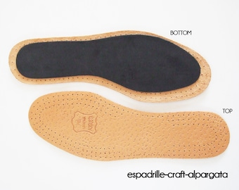 insoles for espadrille soles - P2 - sizes EU 35 - 45