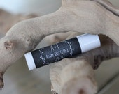 Personalized Lip Balm Stickers -- Chalkboard Wreath -- Personalized Chapstick Labels, Birthday Party Favors, Wedding Favors