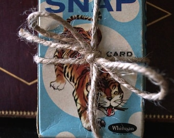 Oh Snap it is the cutest Childrens Game Cards - Vintage - whitman - paper ephemera - snap