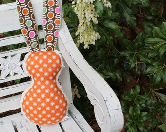 Lovely Bloom Bits The Bunny Plush Rattle