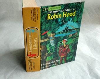 ROBIN HOOD Hollow Book Keepsake Box Vintage Book Cover Fake Book Secret Secret Stash Box Hidden Compartment Groomsman Wedding Party Wooden